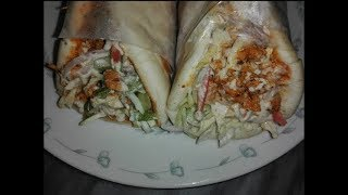 Chicken Shawarma Recipe at Home,Homemade Tahini Sauce Recipe