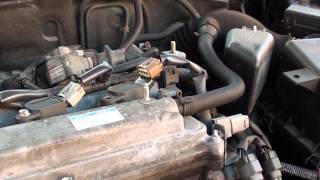 Toyota Injector Coil Replace Fault P1315 & Engine Light Turn Off iCarsoft i905