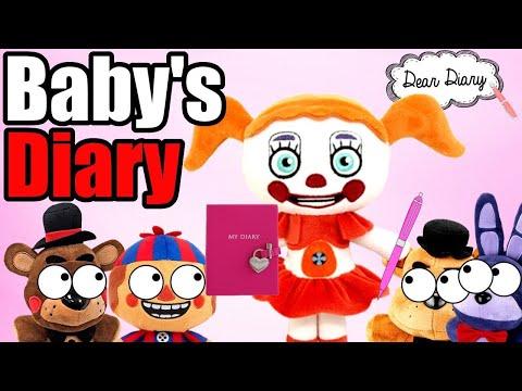 FNAF Plush - Baby's Diary