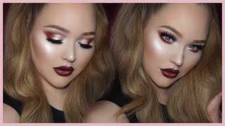 Sultry Warm-Toned Smokey Eyes feat. MODERN RENAISSANCE Palette by Nikkie Tutorials