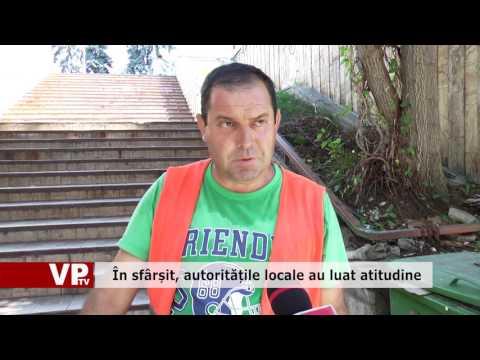 În sfârșit, autoritățile locale au luat atitudine