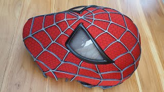 Video Spider-Man Costume Replica Mask with Magnetic Eye Frames (unfinished) MP3, 3GP, MP4, WEBM, AVI, FLV November 2017