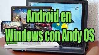 Andy OS es, sin duda, el mejor emulador del sistema Android para Windows. Es ligero, estable y funcional; permite muchísimas opciones que otros como BlueStac...