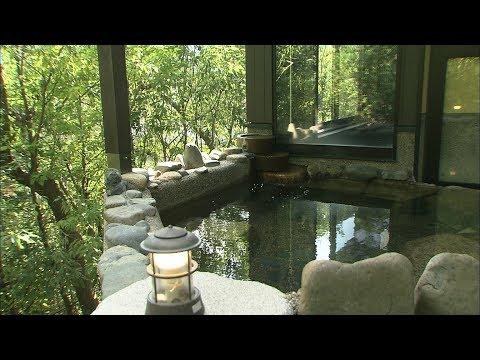 避難所で暮らす人に「温泉旅行」 岡山・湯郷温泉