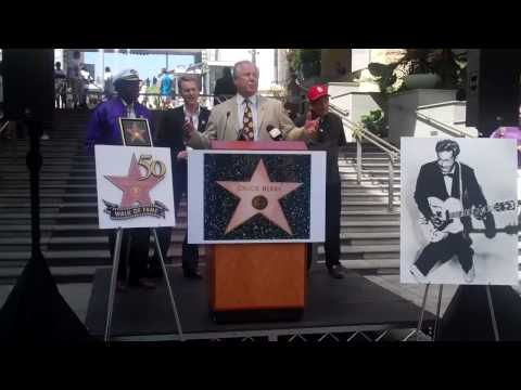 Chuck Berry Walk of Fame Ceremony