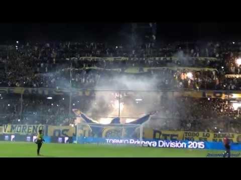 """Video - """"Recibimiento"""" - Rosario Central (Los Guerreros) vs Huracan - 2015 - Los Guerreros - Rosario Central - Argentina"""