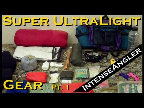 Homemade Gear for backpacking, hiking, floating and biking the