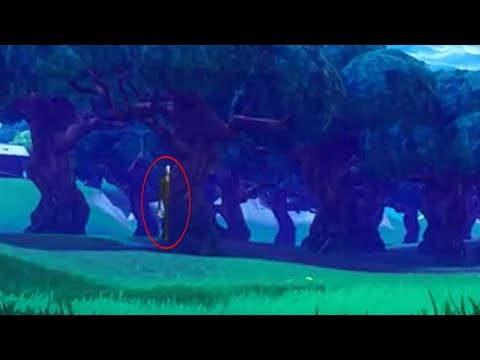 Slender Man In Fortnite? yes IS REAL!!!