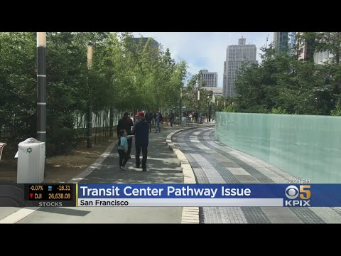 Walking Path Atop San Francisco Salesforce Transit Center Needs Replacing, Could Cost $1m