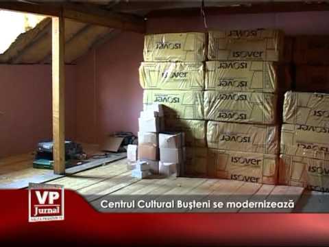 Centrul Cultural Buşteni se modernizează