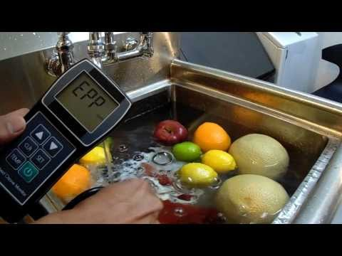 Ozonated Water PPM Measurement Commercial Ozone Generator