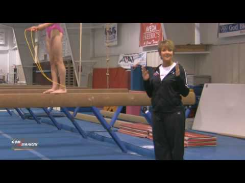 Jump Rope On Beam - Mary Lee Tracy