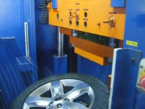Тест литых дисков WSP Italy W3802 GIOVE на удар спицы (Крайслер)