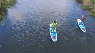 First outing with the drone... paddleboarding in Hythe