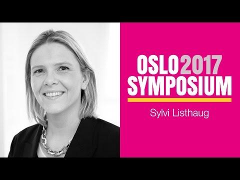 Sylvi Listhaug på Oslo Symposium 2017