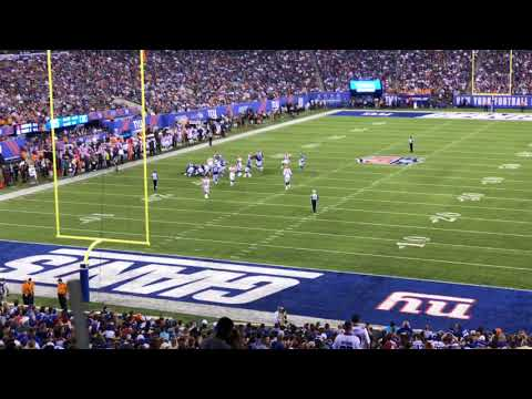 New York Giants vs Cleveland Browns preseason 2018 part 35