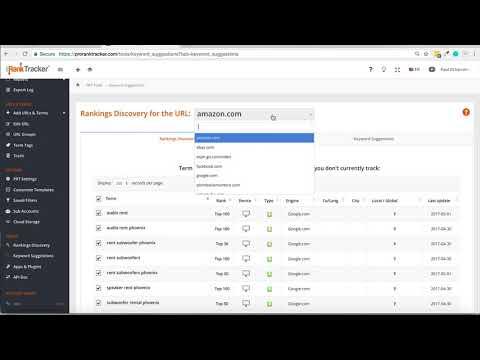 Pro Rank Tracker Review - Keyword Prediction Softwear - Rank Tracker tool