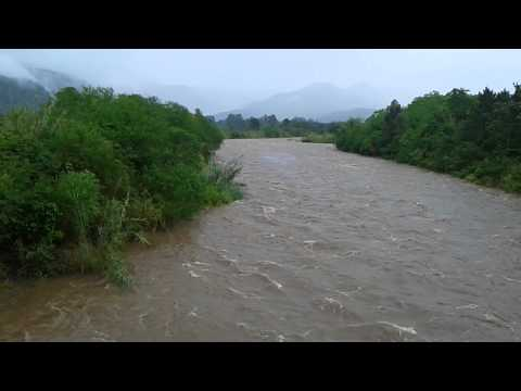 Rio Amola Faca, em Timbé do Sul. Hoje: 17-09-15