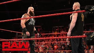 Nonton Braun Strowman And Brock Lesnar Throw Down Before Wwe Crown Jewel  Raw  Oct  29  2018 Film Subtitle Indonesia Streaming Movie Download