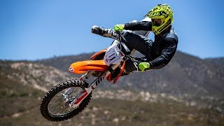 6. Racer X Films: 2019 KTM 350 SX-F Helmet Cam Lap with David Pingree at Chaney Ranch