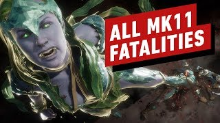All Mortal Kombat 11 Fatalities and Fatal Blows by IGN