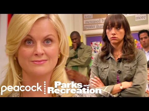 Leslie's Pinky Promise To Ann - Parks and Recreation