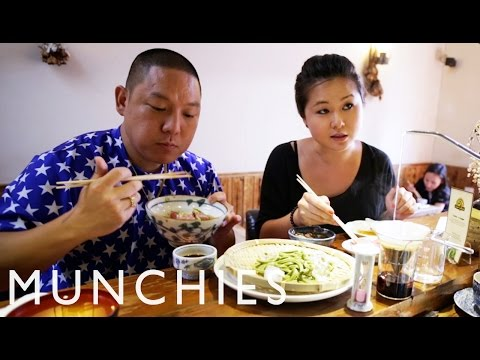 Shanghai - Subscribe to Munchies here: http://bit.ly/Subscribe-to-MUNCHIES Eddie travels around the city with popular food writer Jenny Gao, where he starts his day with some poop-infused coffee, throws...