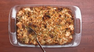 Cornbread Stuffing As Made By Tia Mowry & Cory Hardrict by Tasty