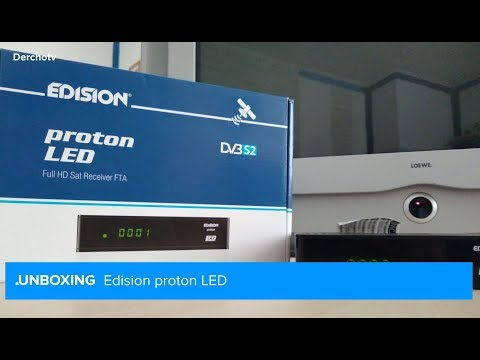 UNBOXING – Edision Proton LED