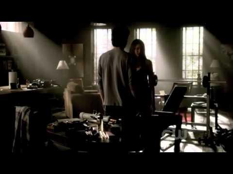 TVD 3x06 - Damon and Elena Scenes Part 1