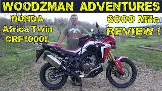 5. Honda Africa Twin 6000 Mile Review ~  AltRider CRF1000L Adventure