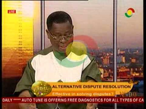 New Day - Discussing The Importance of Alternative Dispute Resolution - 24/9/2014
