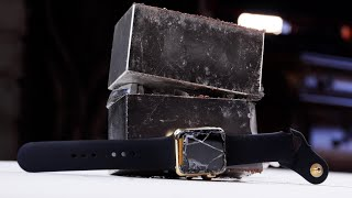 Crushing a Gold Apple Watch With Super Magnets