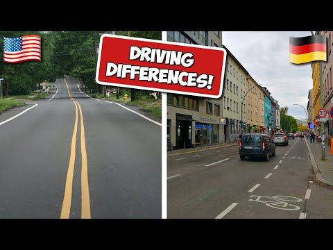 Driving Differences (Germany & USA)
