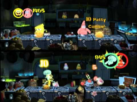 SpongeBob SquarePants: Lights, Camera, Pants! (PS2) - Part 1