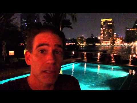 Bangkok Peninsula Hotel in Thailand with Marc Accetta