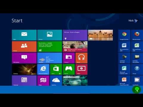 windows - In this video see how to find the control panel in Windows 8. Windows 8 control panel is easy to find in Windows Modern UI. You can quickly access control pa...