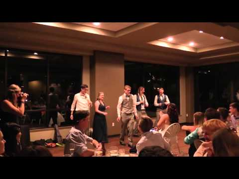 Awesome Wedding Dance - Hooked On A Feeling