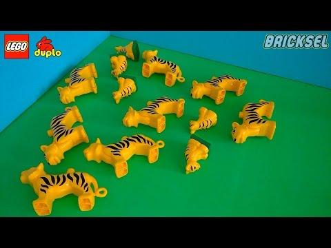 Курс Валют LEGO DUPLO в Полосатой Валюте на 28.04.2017. Тигр. Тигры. Тигренок.