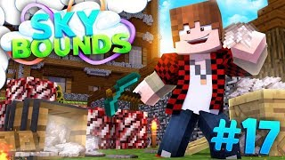 EPIC QUARTZ ORESEED FARM! | SKYBOUNDS ISLAND #17 (Minecraft SkyBlock SMP)
