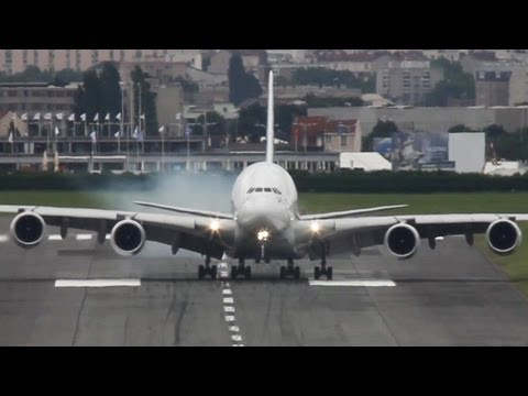 AIRBUS - This Airbus A380 by the Airbus Company performed an amazing