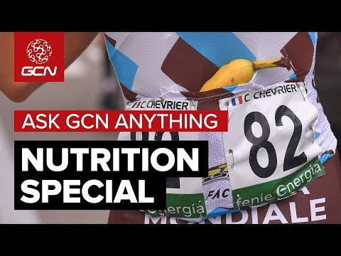 Cycling Nutrition Explained With Professor Jeukendrup  Ask GCN Anything About Cycling
