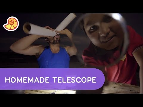How to Make Your Own Telescope  | Full Proof