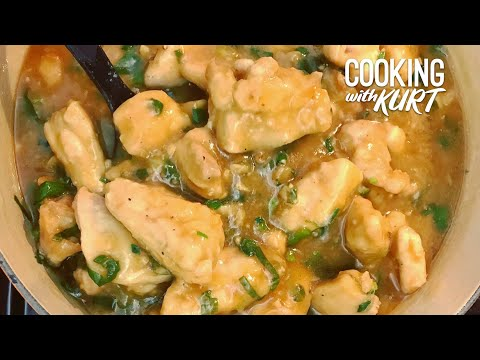 Filipino Ginger-Scallion Chicken Recipe | Cooking With Kurt (American Accent)