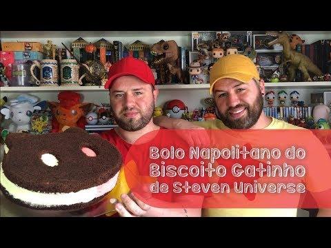 #147 Bolo Napolitano do Biscoito Gatinho de Steven Universe