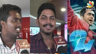 24 Public Review | Surya, Samantha, Nithya Menen, AR.Rahman Kollywood News 06/05/2016 Tamil Cinema Online
