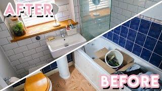DIY Bathroom Makeover + Renovation 2019 | Becky Excell
