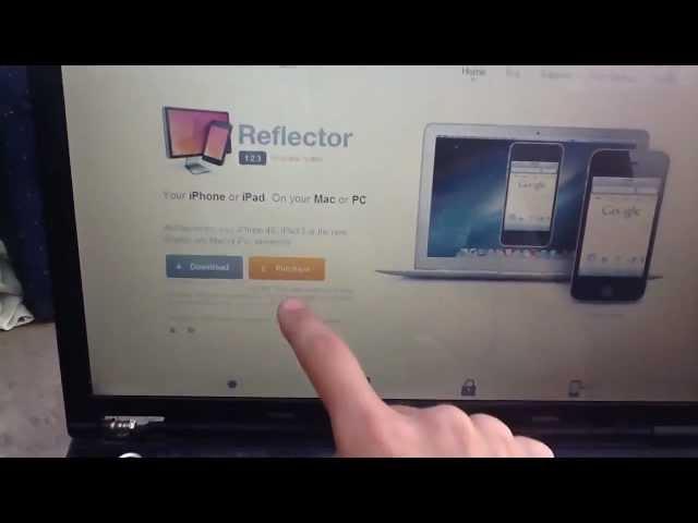 Visualiza tu iPhone, iPad en Mac o Windows sin cables con Reflector