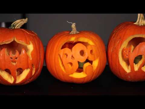 Youtube halloween pumpkin carving tutorials liverpool echo for Pumpkin sculpting tutorial