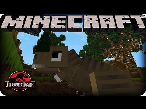 Minecraft Dinosaurs - JURASSIC PARK - SEASON 2! Ep # 2 TREX AND TURRETS!